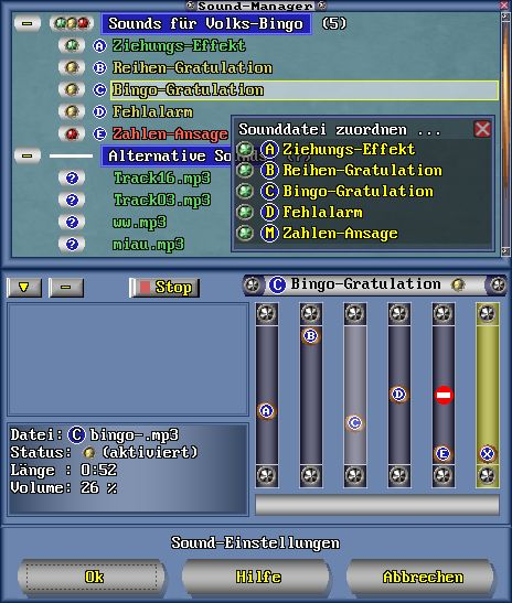 Screenshot Sound-Manager
